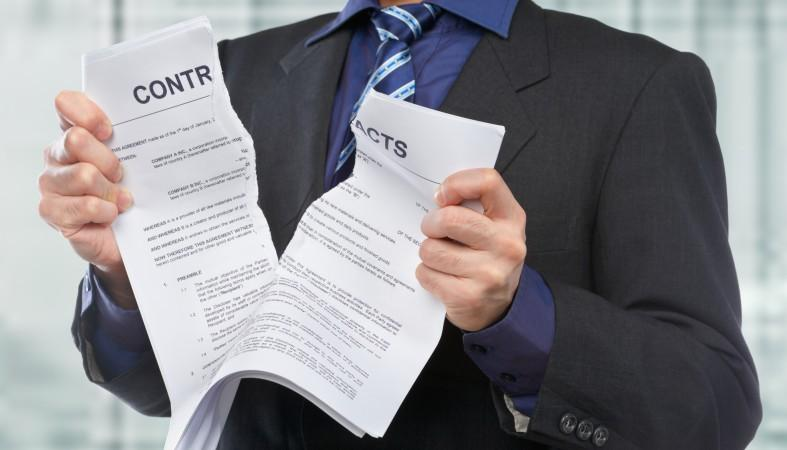 Расторжение договоров: анализ судебной практики